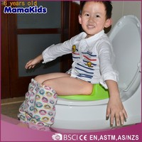 Cartoon baby toilet seat with handles toilet seat for kids