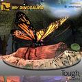 el parque temático de la decoración robots gigantes modelo de insectos de la mariposa