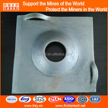 200x12mm Underground roof supporting domed plate domed steel washer