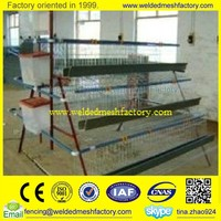 Chicken Egg Layer cages,welded wire mesh animal cage