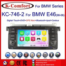 K-Comfort Free shipping car dvd player with gps for bmw e46 dvd,Good quality auto radio car dvd for bmw e46