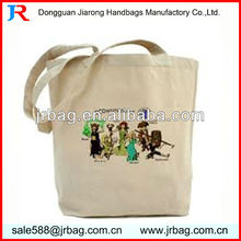 Organic natural raw cotton canvas bags Canvas Carrier Bags