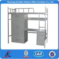 metal heavy bunk bed steel loft bed study table kids adult heavy duty bunk bed