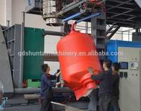 Fully automatic HDPE / PE /PET blowing molding machine with advanced technology
