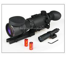4x night vision rifle scope Infrared illuminator Detachable