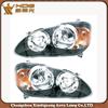 2005 2006 2007 2008 Corolla headlight headlamps (black white)