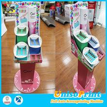 UNISO unique coreflute/paper toothbrush floor display showcase for sales