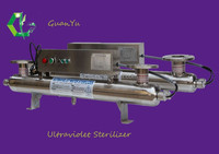 UV sterilizer for waste water, sewage treatment industrial wash machine automatic self cleaning filter