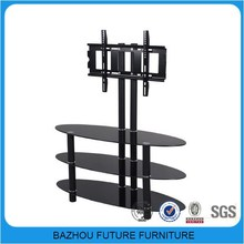 Living Room Furniture glass luxury style tv stand