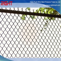 Sturdy And Durable Strong Toughness Galvanized & Pvc Coated Chain Link Fence (Professional Manufacturer)