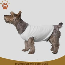 plain white dog t-shirts