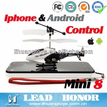LH-1210 Phone control mini rc helicopter 3.5CH iPhone/iTouch/iPod Infrared rc helicopter for kids