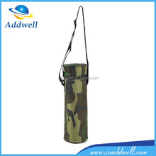Outdoor portable camouflage canvas picnic beer cooler bag