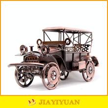 Metal Crafts Handmade Antique Bronze Metal Diecast Classic Car Model for home decoration