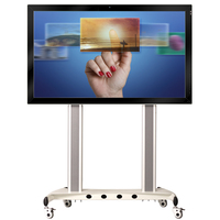 China factory 84 inch support TV&PC ir touch panel for school