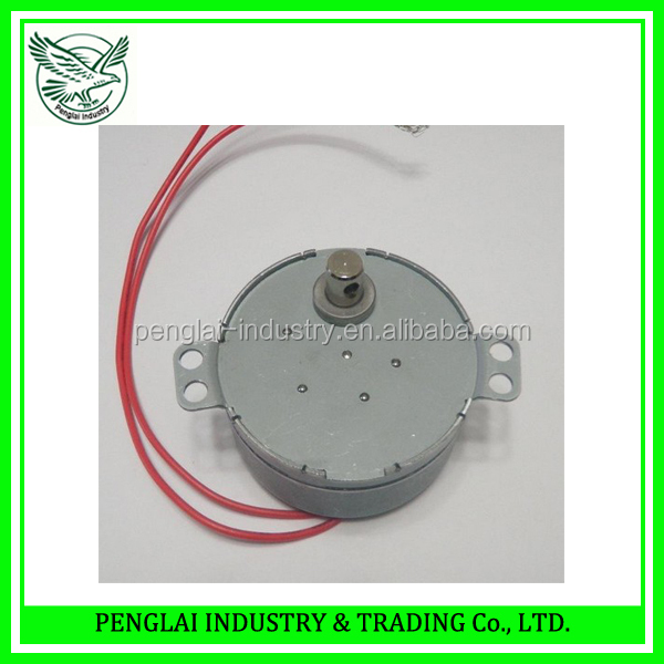 5rpm 49mm diamter small synchronous motor