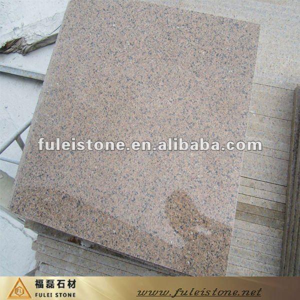 Baldosas de granito marr n para el suelo de interior for Baldosas de granito