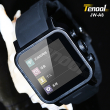Dual core wrist watch phone android phone 5mp front camera customized brand JW-A8 600mAh standby 2 days