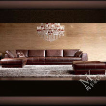 Top brand home furniture sofa leather italian design HD58 in guangzhou