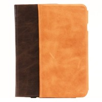First layer real leather flip phone case for iPhone 6