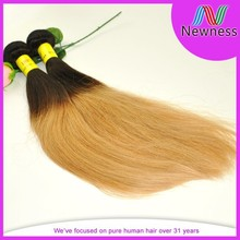Natural no tangle no shedding unprocessed brazilian hair meche