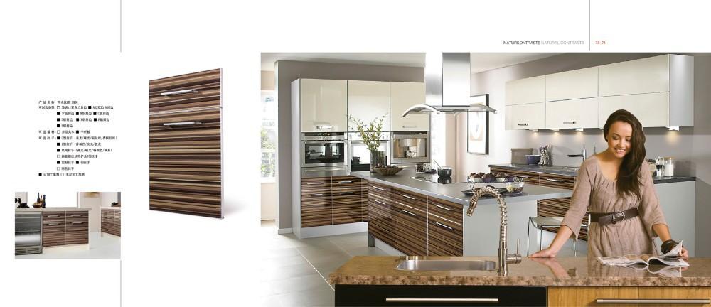 Usine directe haute brillance acrylique armoires de cuisine porte conceptions armoire de cuisine - Top cuisine direct usine ...