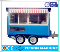 ice cream kiosks food cart ice cream cart/commercial coffee carts on wheels portable ice cream van for sale
