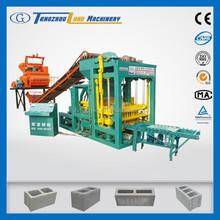 QTJ4-25 used brick making machine for sale in india