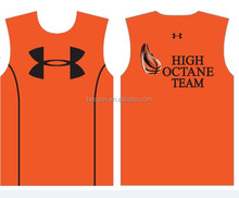 custom 100% polyester basketball jersey uniform design
