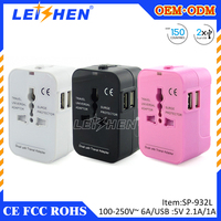 Offering a full range of wireless accessories of travel adapter with usb for 10 years
