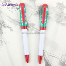 Best selling products promotional ballpoint pen recycle plastic