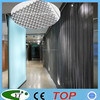 Metal decorative room dividers for restaurant and hotel
