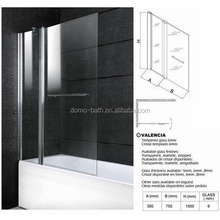 DOMO bathtub size shower enclosures