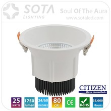 2015 Latest Products For commercial lighting 24w led downlight