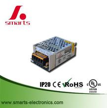 110v/220v aluminum enclosure power supply 12v 50w with ce ul
