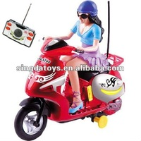 8051 Motorcycle Toys 4 Channel RC