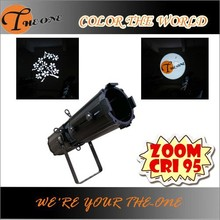 led ellipsoidal zoom gobo projector