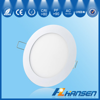 china hot sale 18w 9 inch ip40 round recessed panel light led pannel industrial CE ROHS
