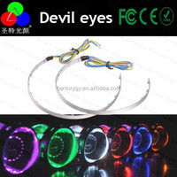 High quanlity 360 degree headlight red devil eye angel eyes for 2.5 inches and 3.0 inches bi-xenon productors