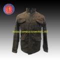 Hombres de moda eco- sandye hombres de teflón camuflaje única chaqueta de frío(0010)