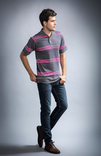 Man polo shirts,striped polo t shirt,short sleeve polo tshirt