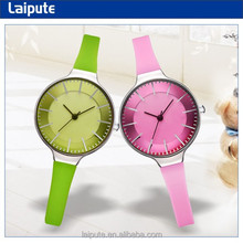 2015 new design hand watch for girl student color silicon watch relojes para mujer