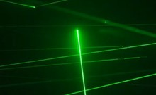 Professional custom closet real game props green laser array Escape props Series Package