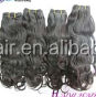 Factory Price Good Quality remy human human hair clip on ponytail