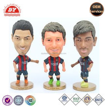 Customized cartoon Lionel Messi football players action figure