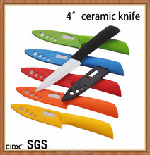 SGS hot sale high quality kitchen 4 inch utility ceramic knife (CIDX-TJC002)