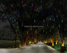 holiday decoration LED curtain light rubber cable IP65 outdoor light christmas lights