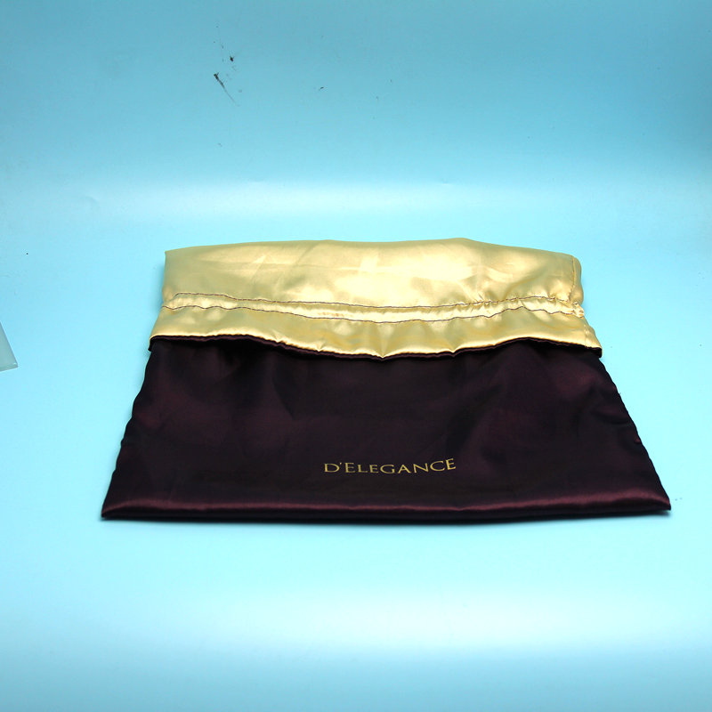 wholesale factory price Custom double-sides large Satin Dust Bag for handbag/shoes