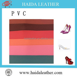 PVC Finished Newly design synthetic leather for shoes and bags