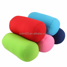 Hot selling colorful plain tube pillow/tube cushion